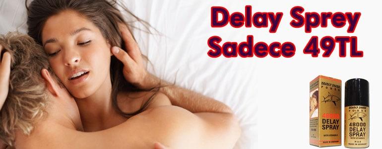 delay sprey ne demek