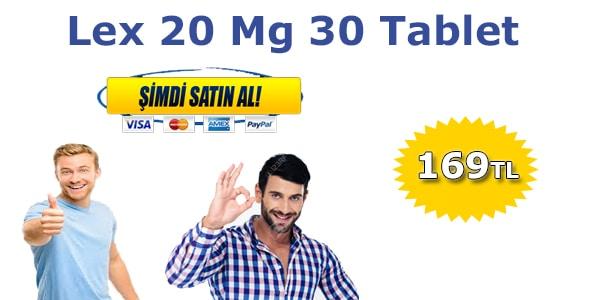 lex 20 mg fiyatı 2020